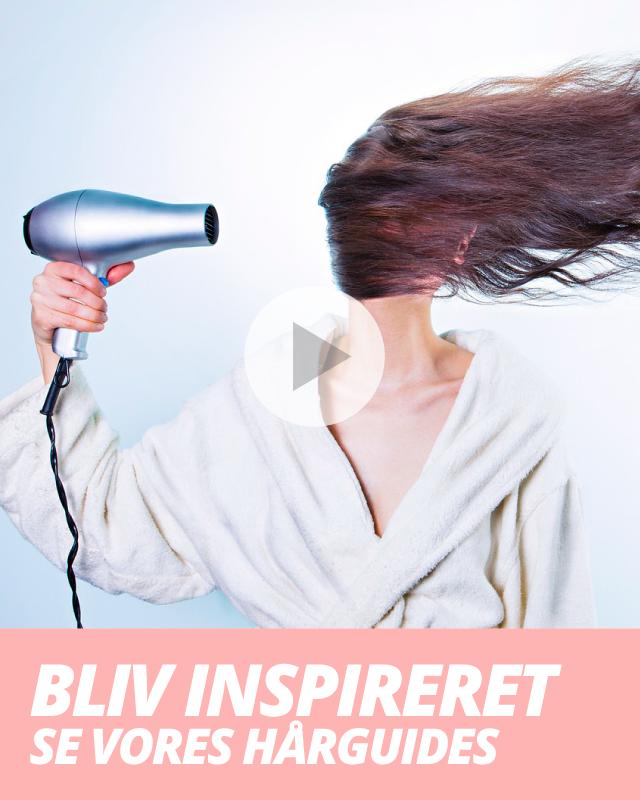 Bliv inspireret og se vores hårguides